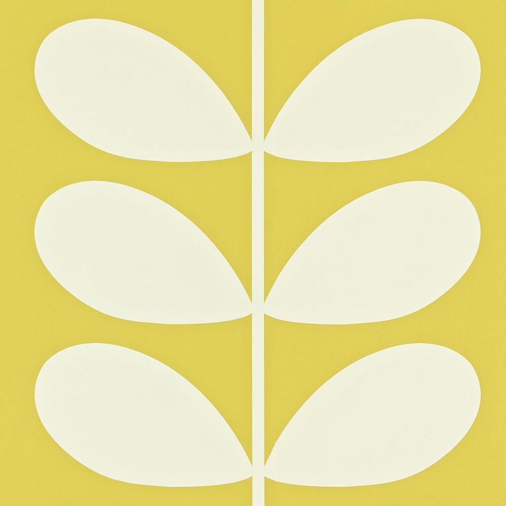 Orla Kiely wallpaper Giant Stem Yellow