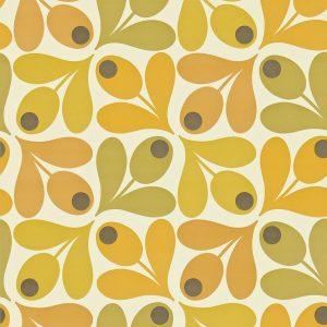 Orla Kiely wallpaper Multi Acorn Spot