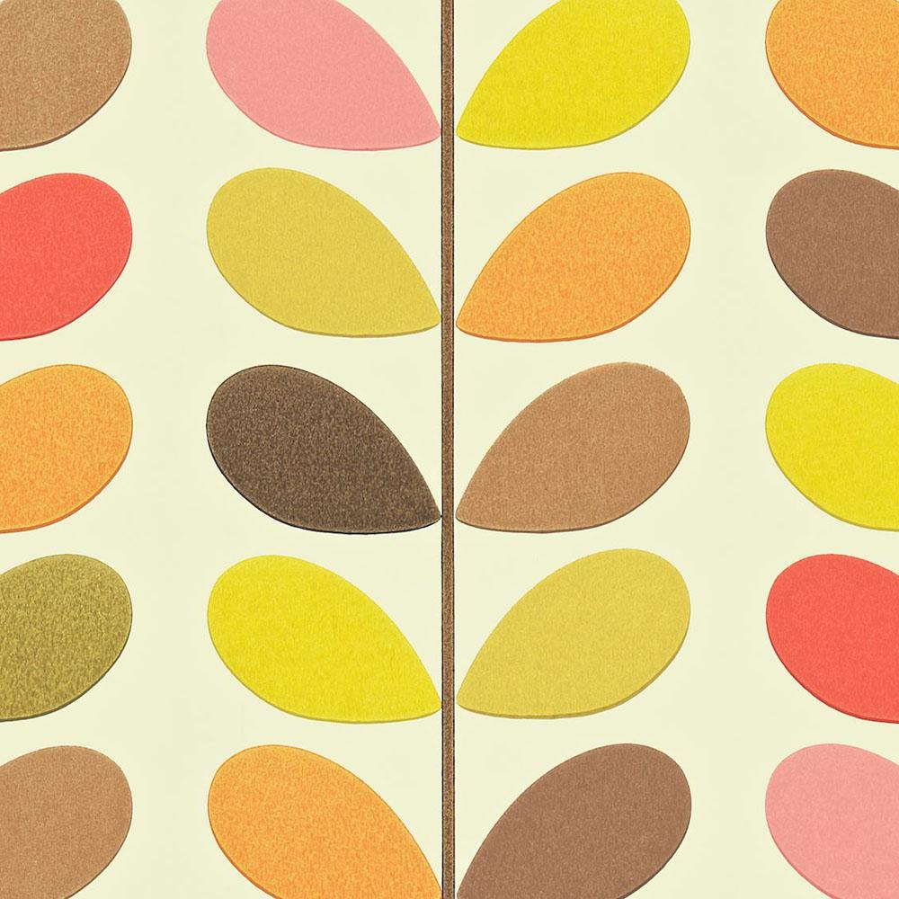 Orla Kiely wallpaper Multi Stem Autumn