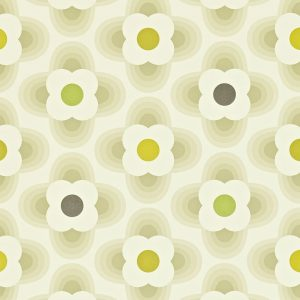 Orla Kiely wallpaper Multi Striped Petal Grey