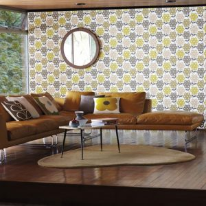 Orla Kiely wallpaper Rhododendron Autumn
