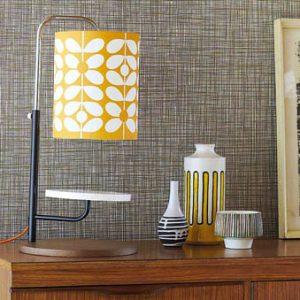 Orla Kiely wallpaper Scribble Olive