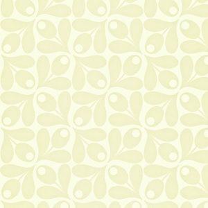 Orla Kiely wallpaper Small Acorn Cup Beige