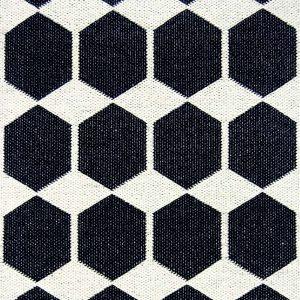 Brita Sweden plastic rug Anna Black