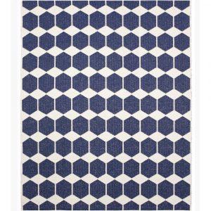 Brita Sweden plastic rug Anna Denim Blue