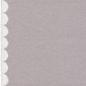 Brita Sweden plastic rug Bobbi Amethyst Grey