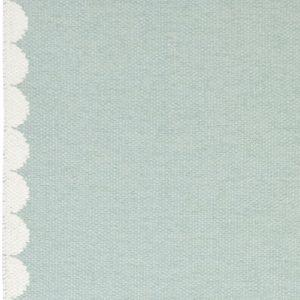 Brita Sweden plastic rug Bobbi Turquoise