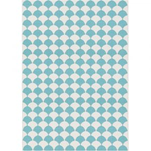 Brita Sweden plastic rug Gerda Pool Blue