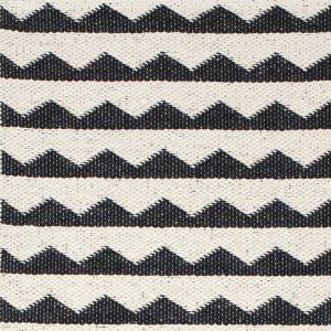 Brita Sweden plastic rug Gittan Black