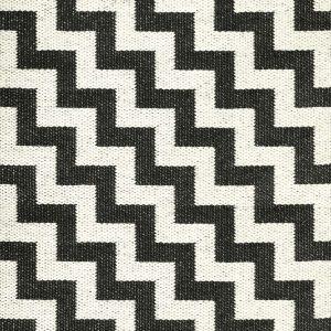 Brita Sweden plastic rug Gunnel Black