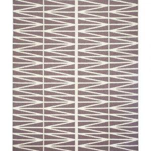 Brita Sweden plastic rug Helmi Amethyst Grey