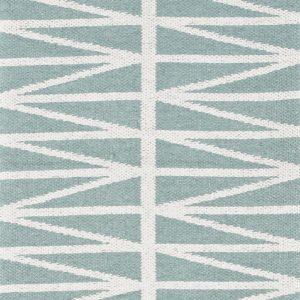 Brita Sweden plastic rug Helmi Turquoise