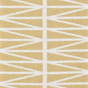 Brita Sweden plastic rug Helmi Yellow