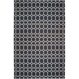 Brita Sweden plastic rug Ingrid Black