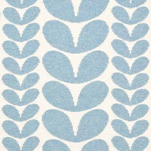 Brita Sweden plastic rug Karin Blue