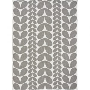 Brita Sweden plastic rug Karin Concrete