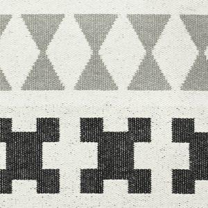 Brita Sweden plastic rug Paris Beluga Grey