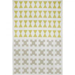 Brita Sweden plastic rug Paris Yellow Potato