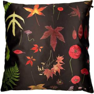 EST-1966 cushion NO-1 Flowers Black