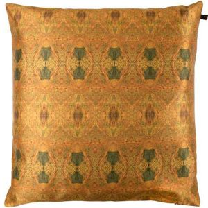 EST-1966 cushion NO-3C Leave Veins Copper