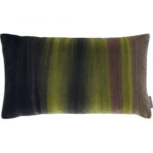 Harlequin cushion Amazilia Velvet Stone-Elephant