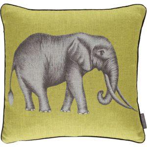 Harlequin cushion Savanna Lemon