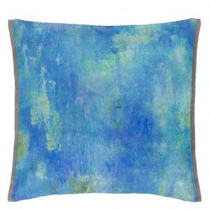 Designers Guild cushion Masson Azure