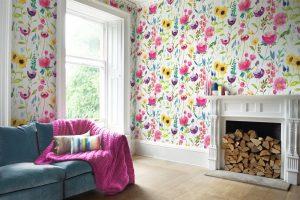 Bluebellgray wallpaper Flower Field