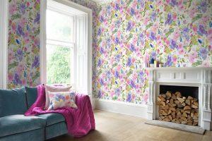 Bluebellgray wallpaper Wisteria