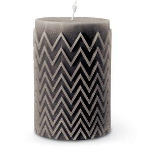 Missoni Home Chevron candle grey