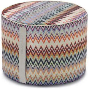 Missoni Home cylinder pouf Masuleh 156