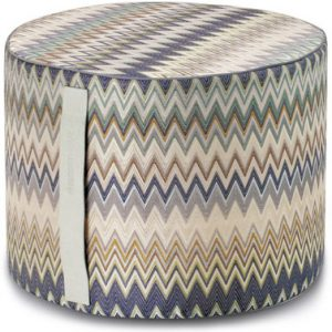 Missoni Home cylinder pouf Masuleh 170