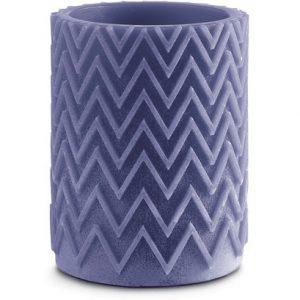 Missoni Home Chevron Tanterna candle blue