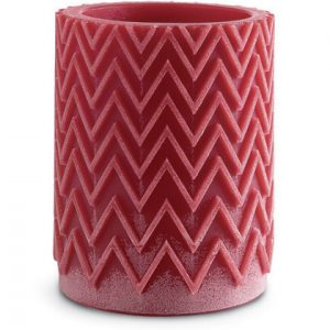 Missoni Home Chevron Tanterna candle red