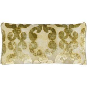 Designers Guild cushion Iridato Acacia