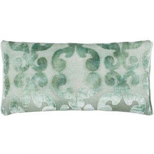 Designers Guild cushion Iridato Pale Aqua