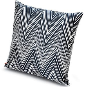 Missoni Home cushion Chevron black