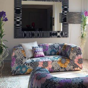 Missoni Home 2-seat sofa Gravita