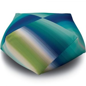 Missoni Home outdoor diamond pouf Tonga 170