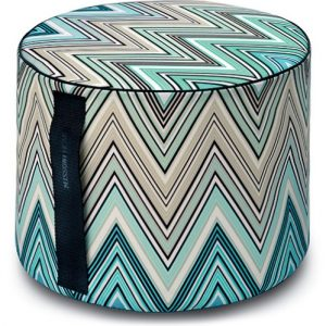 Missoni Home outdoor cylinder pouf Kew 170