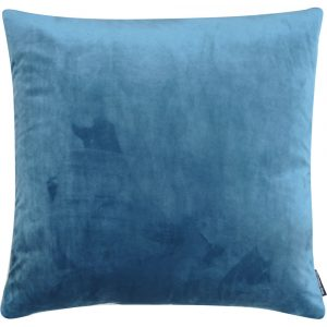 The Cushion Shop kussen Velvet Grey Blue