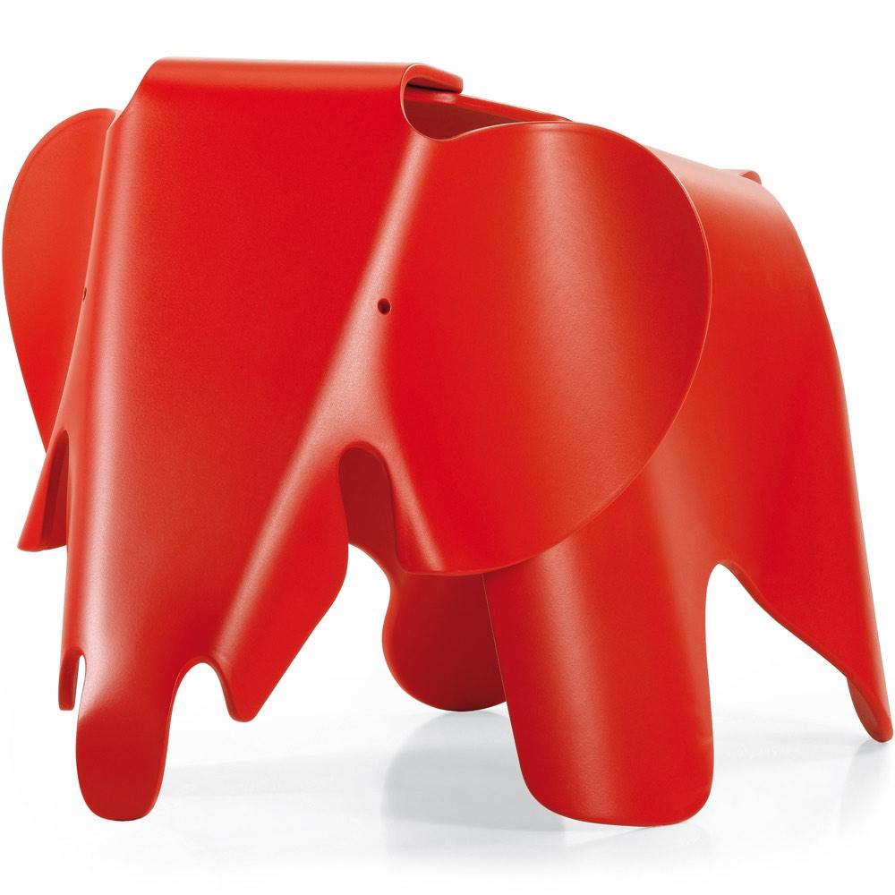 Vitra Eames Elephant stool classic red