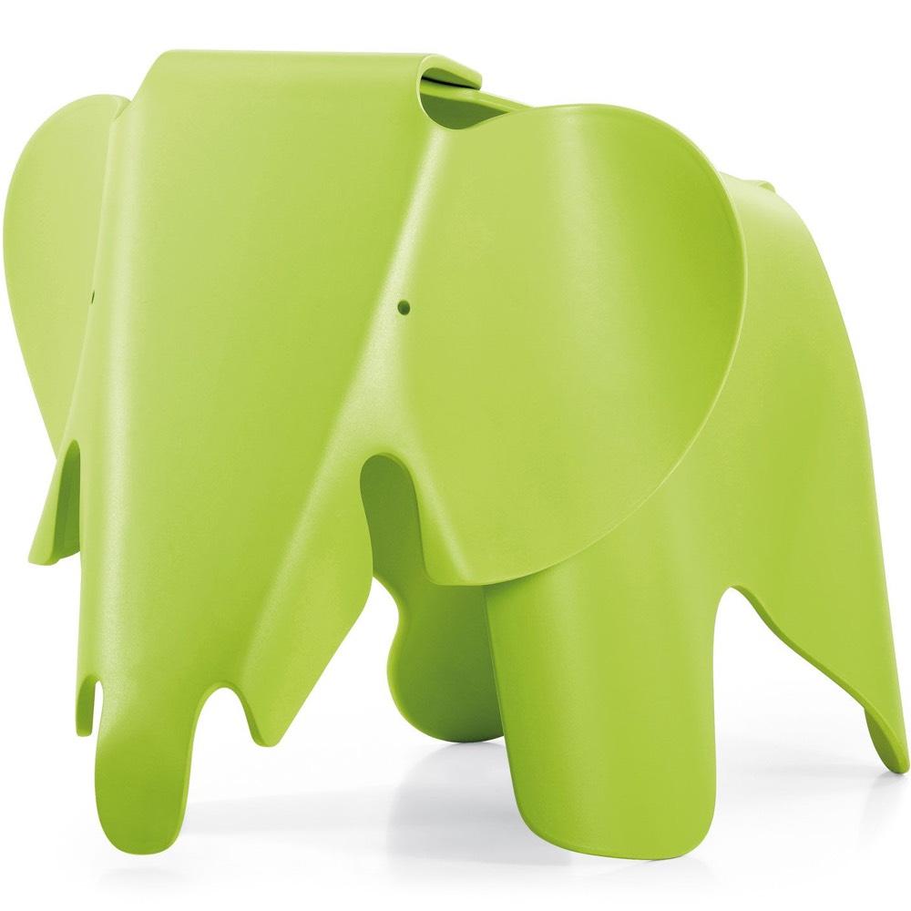 Vitra Eames Elephant stool dark lime