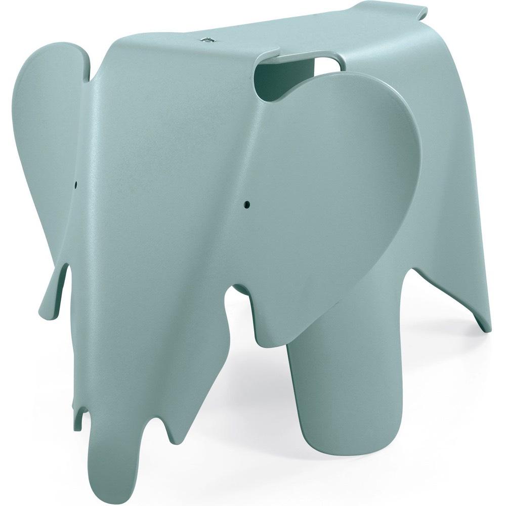 Vitra Eames Elephant stool ice grey