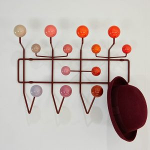 Vitra Eames Hang it All coat rack red