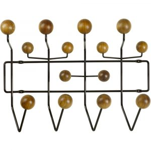 Vitra Eames Hang it All coat rack walnut