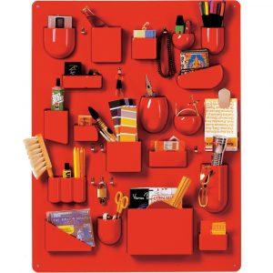 Vitra Uten.Silo I wall storage board red
