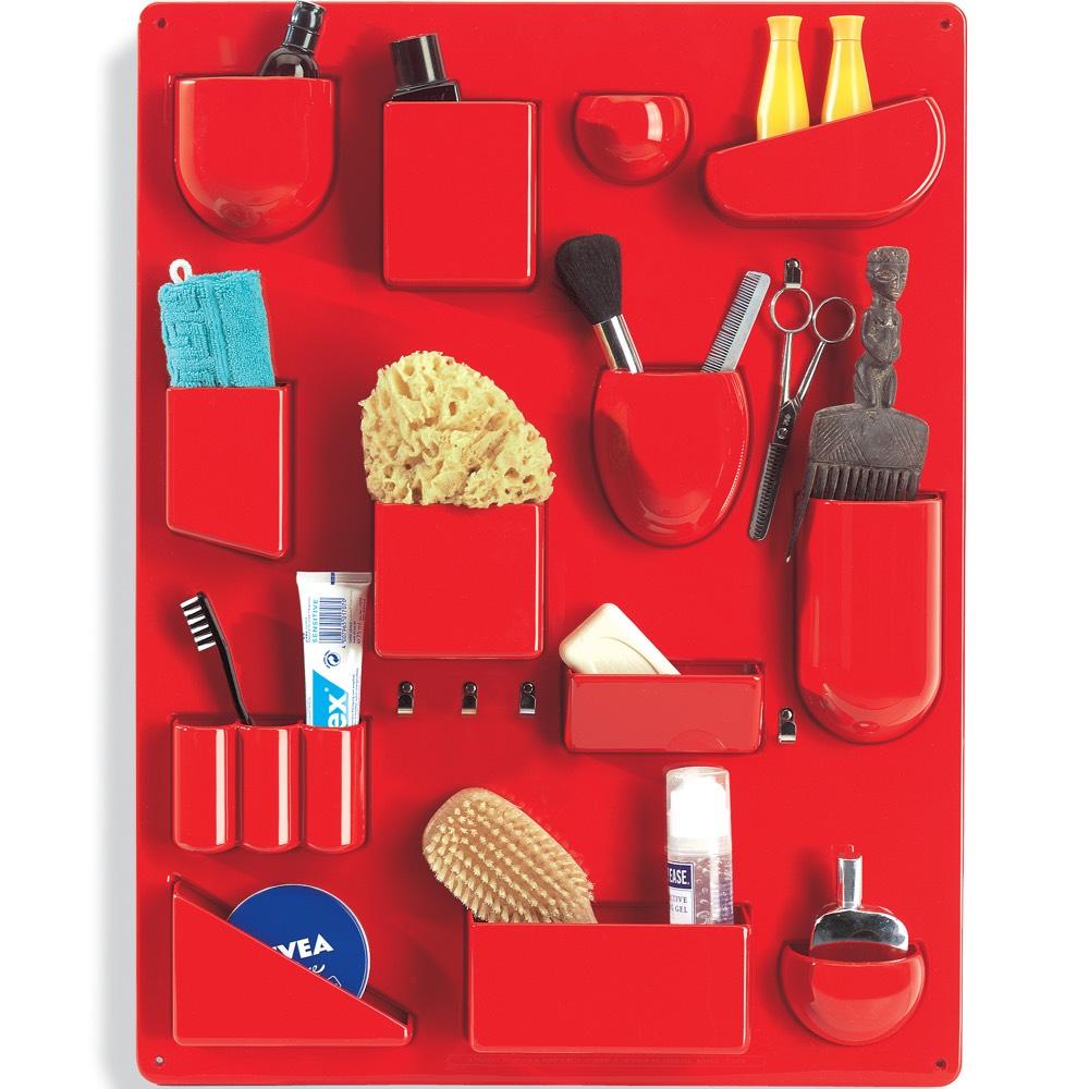 Vitra Uten.Silo II wall storage board red