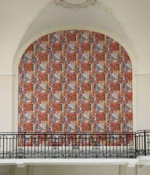 Jean Paul Gaultier wallpaper Porto green-red