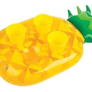 Sunnylife inflatable drink holder Pineapple